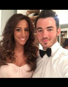 Kev and Dani Danielle Jonas, Jonas Brothers, Fangirl, Long Hair Styles, Photo And Video, Couples, Celebrities, Instagram Posts, Beauty