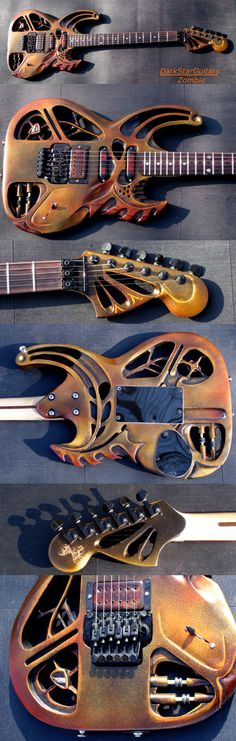 DarkStar Guitars by:  Eric Holland - Zombie