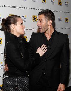 Winona Ryder y Marc Jacobs