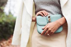 Let a single statement ring be the star of your look // Your No-Brainer Guide to Mixing and Matching Your Favorite Rings