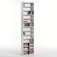 etagère tournante karen 208 cd/dvd en bois | Étagère range cd/dvd ... - Meuble Range Cd Design