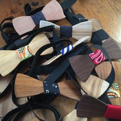 Atelier La Grange : Des noeuds papillon en bois ! + concours