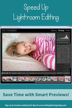 A quick tip to speed up editing in Lightroom by enabling a new feature that allows users to edit from Smart Previews in the Develop module.