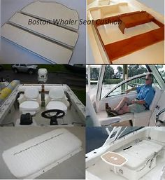 Boston Whaler Seat Cushions For Sale Cushions For Sale, Seat Cushions, Boston Whaler, Boats, Bench Seat Cushions, Chair Pads, Ships, Boat