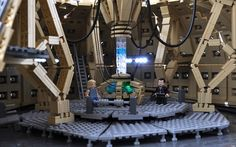 Doctor Who – TARDIS Console Room: A LEGO® creation by Mr. Xenomurphy : MOCpages.com