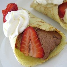 with berries and cream skinnytaste totally making these for breakfast ...