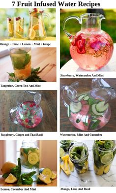 7 Fruit Infused Water Recipe