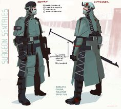 ArtStation - ADAM - Guards (Surgeon Sentries), Georgi Simeonov