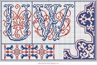 Free Easy Cross, Pattern Maker, PCStitch Charts + Free Historic Old Pattern Books: Rouyer No 265