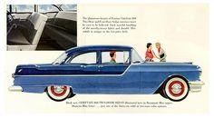 1956 Pontiac Chieftain 860 Two Door Sedan