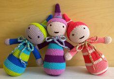 Álommanók , babytoys , amigurumitoys , crochettoys Amigurumi Toys, Baby Toys, Clay, Christmas Ornaments, Holiday Decor, Crochet, Clays, Christmas Jewelry, Ganchillo
