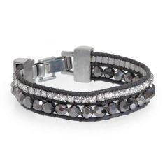 Armband 2-rijen Wolf