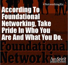 #NetworkingRx: What about yourself are you proud of?