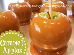Tips to prevent caramel from slipping off the apples