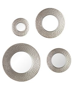 Spotted this Silver Sphere Wall Mirror 4pc Set on Rue La La. Shop (quickly!).