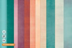 Calypso Solid Texture Paper by FishScraps on @creativemarket