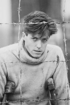 Hugh Grant is a second cousin, once removed, of his Love Actually co-star Thomas Brodie-Sangste Young Celebrities, Young Actors, Celebs, Hugh Grant Young, Celebrity Crush, Celebrity Photos, Most Handsome Actors, What Is Digital, Photo Vintage