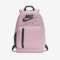 Buy Nike Pink Elemental Graphic Backpack from the Next UK online shop Nike School Backpacks, Kids Backpacks, Leather Backpack, Leather Bag, Latest Fashion For Women, Mens Fashion, Nike Bags, Everyday Items, School Bags