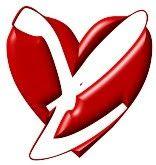 Alfabeto blanco en corazones. | Oh my Alfabetos!