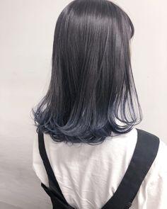 Hair Color Streaks, Ombre Hair Color, Cool Hair Color, Pelo Color Gris, Korean Hair Color, Japanese Hair Color, Classic Wedding Hair, Dull Hair, Japanese Hairstyle