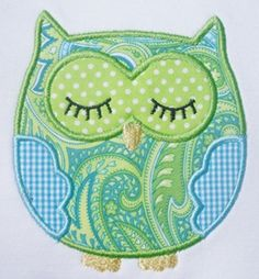 Love this OWL applique!