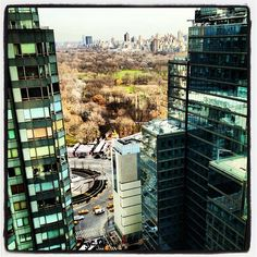 Winter view from Hearst Tower -- no snow yet!   (Instagram photo by @meganj487)
