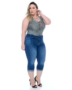 Curvy Plus Size, Plus Size Casual, Plus Size Jeans, Curvy Women Fashion, Plus Size Fashion, Girl Fashion, Womens Fashion, Plus Size Summer Outfit, Plus Size Outfits