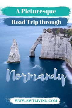 This 4-day road trip itinerary through Normandy starts and ends in Paris. If you want to spend a few days exploring northern France, check out this article to plan your dreamy holiday to Mont Saint Michel, the white cliffs of Étretat, and the picturesque village of Honfleur. It's got culture, nature, and architectural marvels! Europe Destinations, Travel Tips For Europe, Amazing Destinations, Cool Places To Visit, Places To Travel, Ukraine, Paris France Travel, D Day Landings, Budget