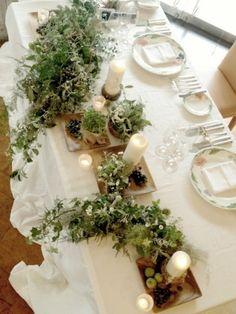 流しテーブル グリーン キャンドル green candle