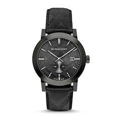 Burberry Watch Swiss Made Black Leather BU9906  #love @shoppevero @amazon #want #shoppevero