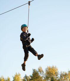 Vapaana ilmassa! #seikkailupuisto #treetopadventure #espoo #finland