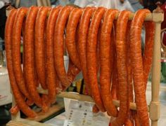 Homemade Hungarian Sausage  http://www.meatprocessingproducts.com/hungarian-sausage-recipe.html
