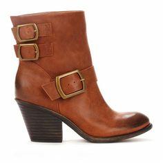Block heel booties - Kiki