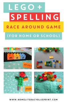 Lego and Spelling Ra