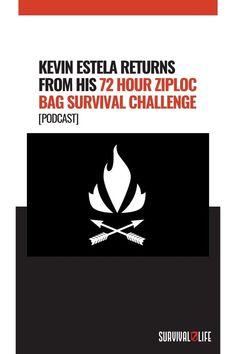 Fresh from the field, Kevin Estela talks with Mike Glover about his 72 hours Ziploc Bag Survival Challenge. He spent 3 days in the Utah desert with only the clothes on his back and the items he could fit in a quart-sized Ziploc bag. Also, Mike issues the next challenge to Kevin! #ZiplocBagSurvivalChallenge #KevinEstela #ZiplocBagSurvival Survival Life, Wilderness Survival, Camping Survival, Survival Prepping, Green Beret, Navy Seals, Lessons Learned, New Books, Mindset