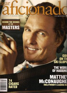 matthew you always did look good with a cigar in your hand and a drink in the other