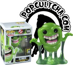 "Funko and Popcultcha are proud to present this highly limited Slimer Glow in the Dark Pop! Vinyl Figure! Straight from the biggest and best Con, San Diego Comic Con 2014, Popcultcha brings to Australia this awesome Ghostbusters Pop!  ""We came, we saw, we've kick its ass!"" - Venkman Capture your very own Slimer with this adorable Glow in the Dark Pop! Vinyl, we guarantee that he won't lever any ectoplasm in your home. Get in quick to order your exclusive Slimer Glow in the Dark Pop! ..."
