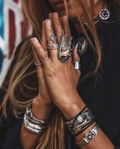 bohemian jewelry turquoise rings slave bracelets arm cuffs boho style anklets flash tattoos silver & gold body chains gypsy jewels