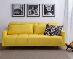 Sofá-cama Apache - Amarelo