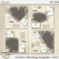 Creative blending Templates Vol.7