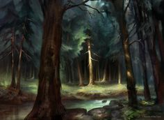 Forest (MPS Lands) by AdamPaquette.deviantart.com on @DeviantArt