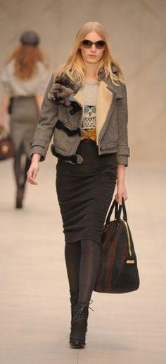 London Fashion Week: Burberry Prorsum autumn/winter 2012
