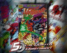WEB OF SPIDER-MAN # 74 COMIC DE 1991. $ 40.00 Para más información, contáctanos en http://www.facebook.com/la5aDimension