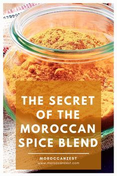 Moroccan Spice Blend, Moroccan Spices, Moroccan Dishes, Moroccan Recipes, Homemade Spice Blends, Homemade Spices, Homemade Seasonings, Spice Mixes, Gastronomia