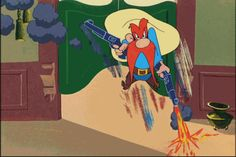 Appears the new open carry laws in Texas, which have expressly allowed guns onto College campuses and into psychiatric hospitals, are back firing against open and concealed carry enthusiasts. Looney Tunes Cartoons, Funny Cartoons, Funny Comics, Animated Cartoon Characters, Animated Cartoons, Disney Characters, Yosemite Sam, Open Carry, Caricatures