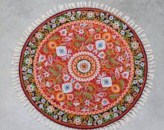 4 Ft Round, Small Round Rugs,red Area Rugs,Rugs Online,rug