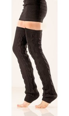 Okay, I have to confess, I really like these! crochet leg warmers