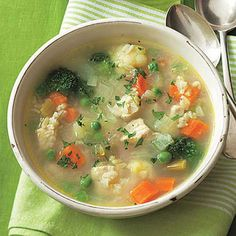 Chicken and Rice Soup #recipe