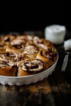 S'mores Cinnamon Rolls | The Crepes of Wrath