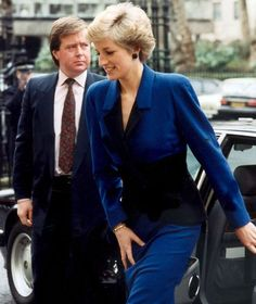 DIANA. AND HER BODYGUARD.
